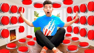 I Filled My House with 100 Mystery Buttons... *only one lets you escape*