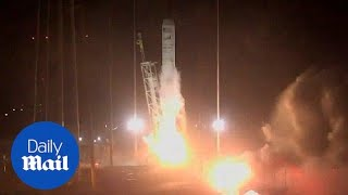 Rocket launches cargo ship headed for International Space Station - Daily Mail