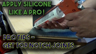 How to Apply Silicone or Caulk like a Pro