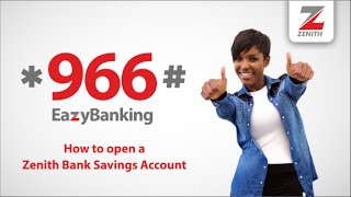 *966# How to Open an Account