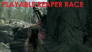 Skyrim Special Edition Mod Review Playable Reaper Race
