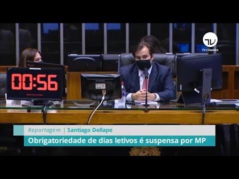 Obrigatoriedade de dias letivos é suspensa por MP - 30/06/20