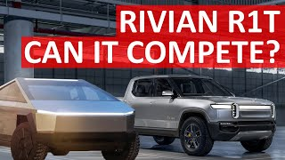 Will Rivian R1T Electric Truck Succeed vs Tesla Cybertruck & Competition?