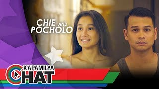 Kapamilya Chat with Chie Filomeno and Pocholo Barretto for iWant's Allergy In Love