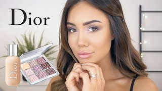 Get Ready With Me - Using The New Dior Backstage Collection
