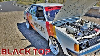 TOYOTA COROLLA DUAL BEAMS ENGINE SWAP - CRAZY BURNOUT!!!