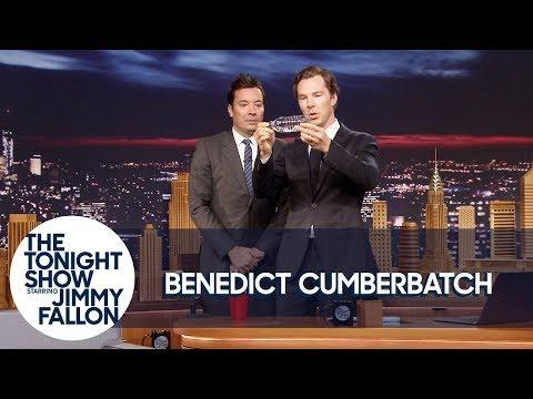 Benedict Cumberbatch Shows Jimmy a Magic Trick (видео)
