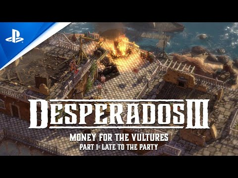 Desperados Iii Money For The Vultures Dlc Trailer Ps4 Trailer 2020
