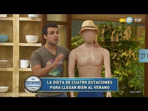 Cómo bajar 6 kilos en 3 meses con Diego Sívori