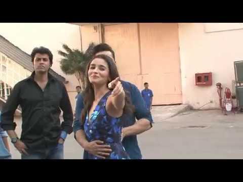 alia musti with varun, badrinath ki dulhania
