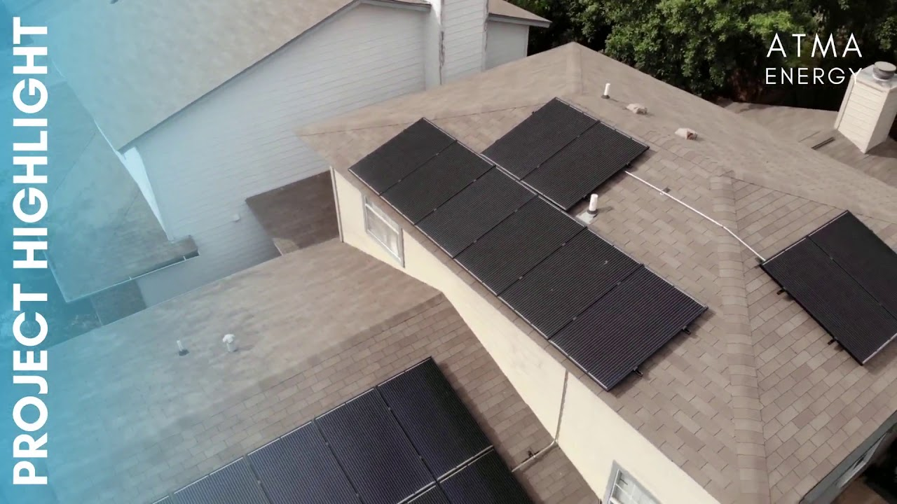 This, smaller Solar PV System, helps out client offset more than half of his total energy bill every month!  We chose the best roof-faces for solar, and maximized their output through precise placement and engineering.