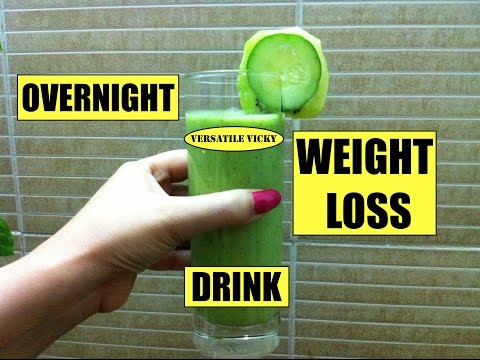 Video How to Lose Weight Fast 10 Kg in 2 Weeks | Overnight Weight Loss Drink | Miracle Weight Loss Drink