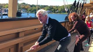 Christopher Lydon at Mystic Seaport