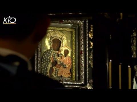 Les pèlerins irakiens aux pieds de la Vierge Noire à Czestochowa