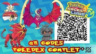 Marshadow  - (Pokémon) - TOUS LES QR CODES = POKEDEX COMPLET ALOLA POKEMON SOLEIL & LUNE!