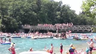 Party Aare Fluss