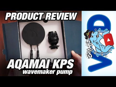 Thomas Reviews the Aqamai KPS Wavemaker Pump (Video)