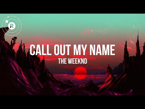 call out my name the weekend lyrics