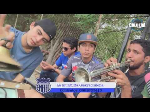 """""""Murguita Guayaquileña"""" Barra: Boca del Pozo • Club: Emelec"""