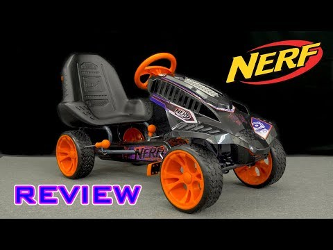 [REVIEW] Nerf Battle Racer | Tacti-Cool Pedal Cart!