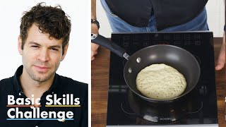50 People Try to Make Pancakes | Epicurious