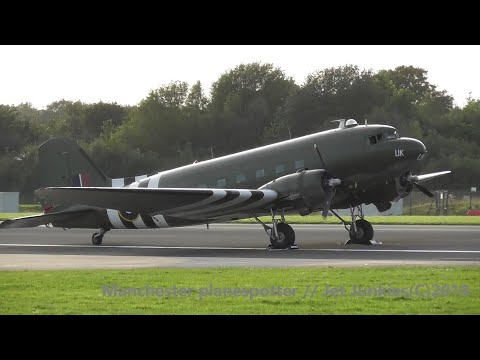 (HD) Eveing Plane Spotting With DC3 At (MAN) Manchester Airport (EGCC) on the 14/09/2019