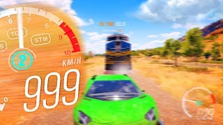 Forza Horizon 3 - 999 КМ/Ч В ДВОЕМ ПО ПОЛЯМ.
