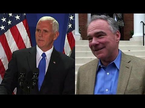ΗΠΑ: Ντιμπέιτ υποψήφιων αντιπροέδρων στην τελική ευθεία πριν τις κάλπες