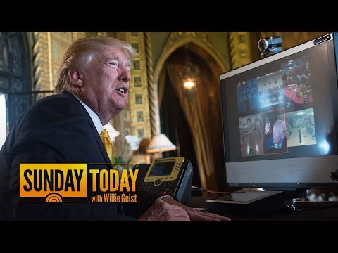 President Trump Returning To Washington Amid Power Play At CFPB | Sunday TODAY