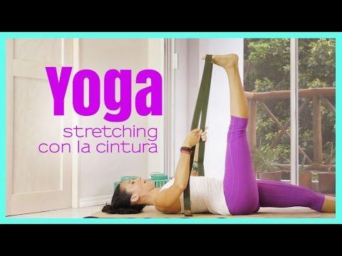 Yoga - Stretching gamba con la cintura