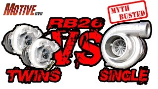 GT-R  RB26 Twins vs Single Turbo - MYTHBUSTED - Project Budget Supercar Pt10