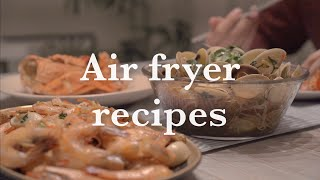 10 EASY Air Fryer Recipes| Cook with Airfryer only for the whole day