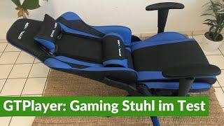 GTPlayer: Gaming Stuhl im Test + Aufbau (2021)