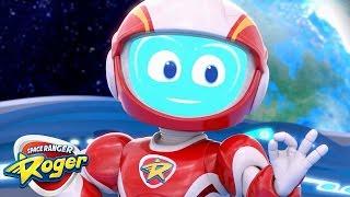 Space Ranger Roger | Mega Mix Compilation | Cartoons For Kids | Funny Cartoons For Children