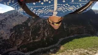 Gorges du Verdon BASE & Wingsuit |Hugues Orlianges