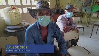 TV MUNICIPIOS – EN LA GLORIA – CESAR SE DESARROLLA EL PLAN MUNICIPAL DE EXTENSIÓN AGROPECUARIA