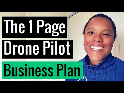 , title : 'How to Write a One-Page Business Plan for your Drone Company