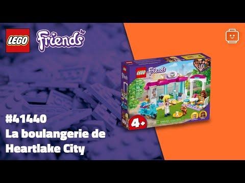 Vidéo LEGO Friends 41440 : La boulangerie de Heartlake City