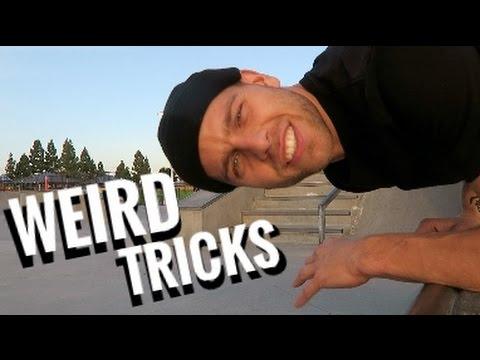 WEIRD SKATE TRICKS!