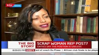 The Big Story: Scrap the woman rep post?