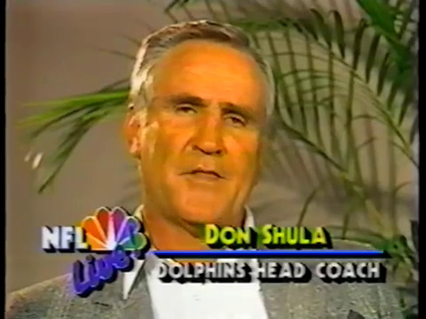 1988 Wk 10 Interviews with Don Shula and Tom Landry