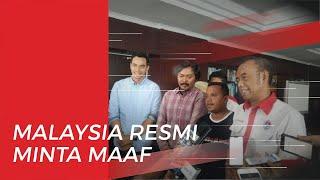 Pemerintah Malaysia Resmi Meminta Maaf soal Insiden Suporter Indonesia