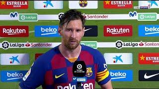 Messi: Lo Dije Antes, Si Continuamos Así, No Ganaremos La UCL. Mira, Acabamos De Perder La Liga.