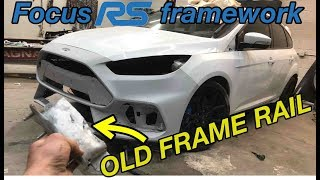 Replacing frame rails on a ford focus RS