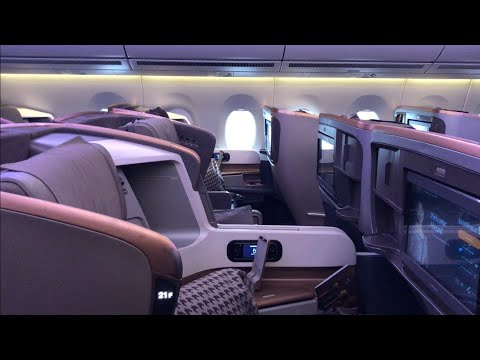 Singapore Airlines A350-900 Business Class Seat Review | Aviation Geeks