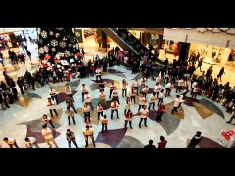 1 Aralık Dünya AIDS Günü 2011 Gaziantep Flashmob