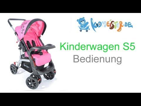Kinderwagen S5 Bedienung