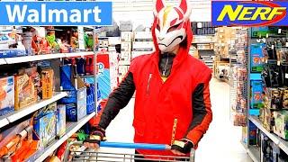 Nerf Fortnite Blaster Shopping At Walmart!