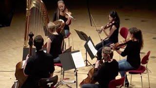 Claude Debussy: Tänze für Harfe und Streichquintett (HD)