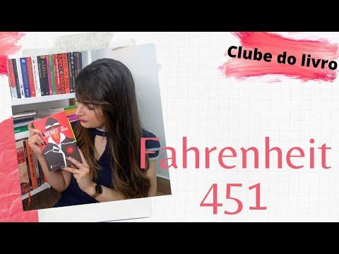[ Clube do Livro] Fahrenheit 451 - Ray Bradbury | Vanusa Marte